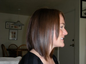 Chopped my hair after having long hair for 12 years!