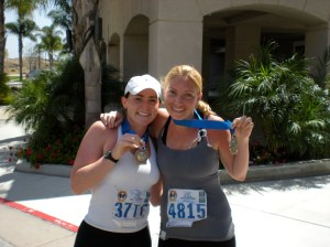 Ran my 4th half marathon side by side with my dear friend Carlye