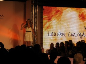Attended the Lauren Conrad fashion show